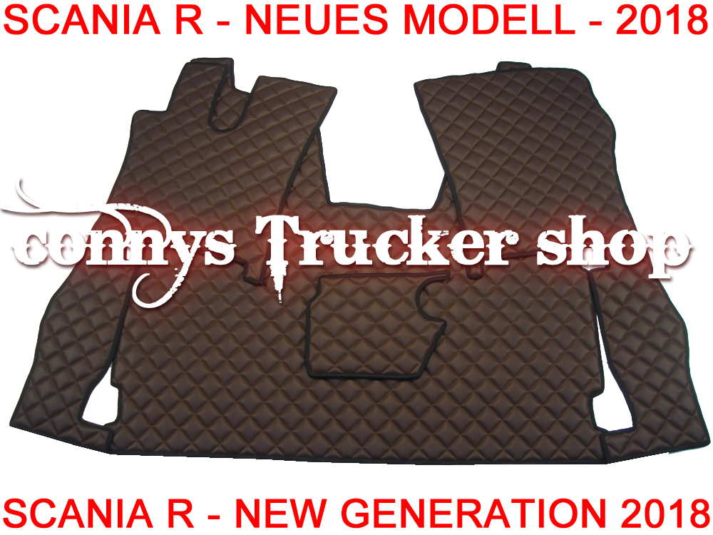 lkw truck fu matten scania r new generation. Black Bedroom Furniture Sets. Home Design Ideas